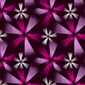 Fragmented Pink Burst