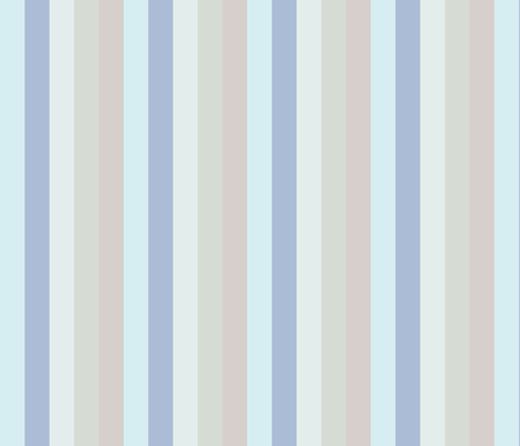 Sea Loch Grey Stripe fabric by de-ann_black on Spoonflower - custom fabric