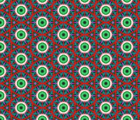Always Watching fabric by salsus on Spoonflower - custom fabric