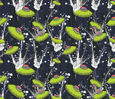 UFOsDBlueMulti fabric by taniao'donnell on Spoonflower - custom fabric