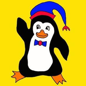 Happy Penguin Waving