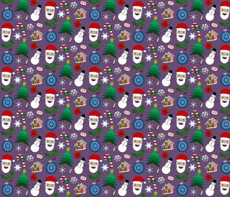 Christmas fabric by erinej on Spoonflower - custom fabric