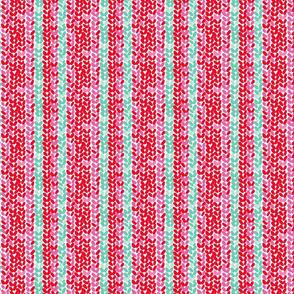 Winter Knit Stripe