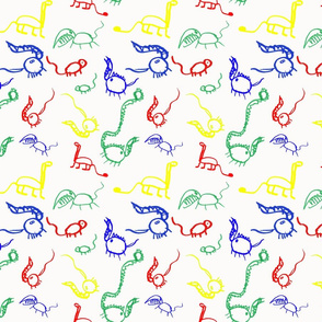 Dinosaurs Colours
