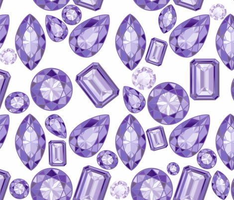 Tanzanite fabric by honoluludesign on Spoonflower - custom fabric