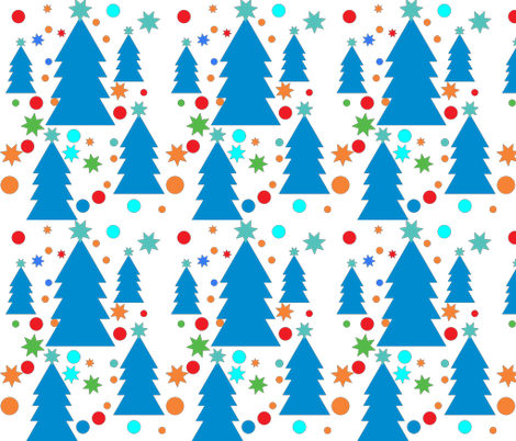 Christmas-pieces fabric by bugs4 on Spoonflower - custom fabric