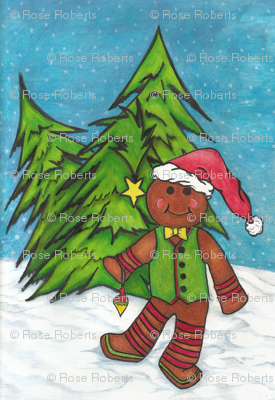 gingerbread man and the 3 trees