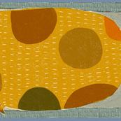 Dog tea towel design