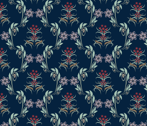 Cali Natives  fabric by kt_katz on Spoonflower - custom fabric