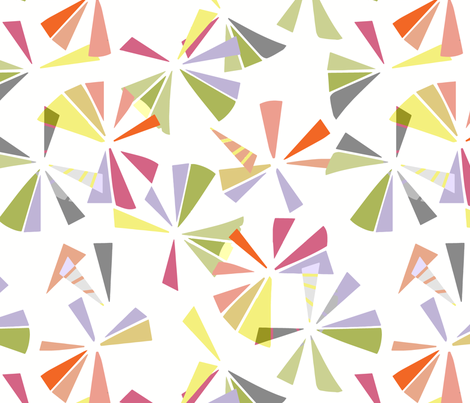 Pretty prisms fabric by samantha_w on Spoonflower - custom fabric