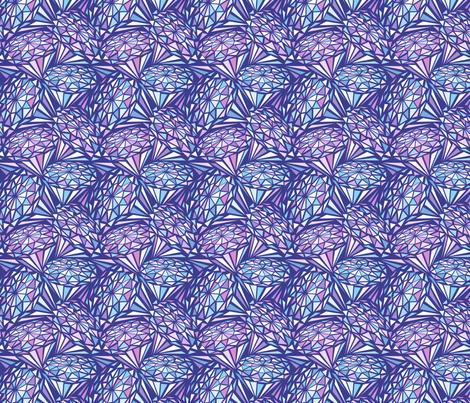 Crystals fabric by olgart on Spoonflower - custom fabric