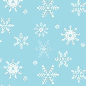 snowflakes turqoise-01