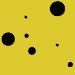 Dot Yellow Black