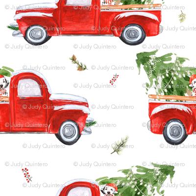 """2"""" Best Friend & Christmas Truck"""