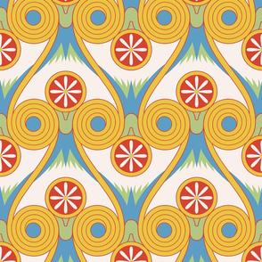 egyptian swirls