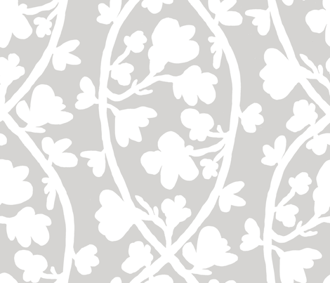 BECKY'S VINE 42x36 fabric by nadinewestcott on Spoonflower - custom fabric
