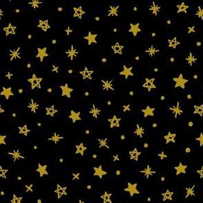 Starry Night - gold