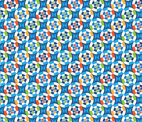 Kaleidoscope fabric by bethanysdesigns on Spoonflower - custom fabric