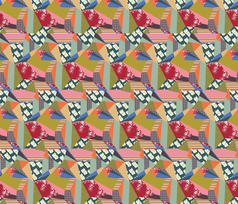 Eastern Fragmentation  fabric by emmabrereton on Spoonflower - custom fabric