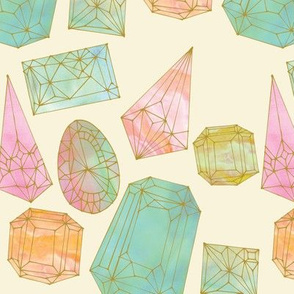 Pastel Gemstones