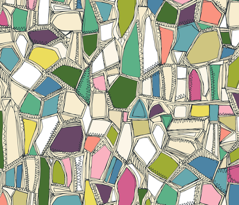 BROKEN large fabric by scrummy on Spoonflower - custom fabric