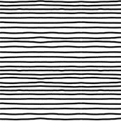 Sketchy Stripes // Black (Small Size)