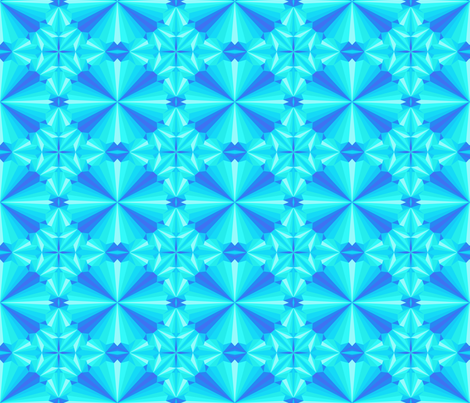 Triangulation fabric by artsytoocreations on Spoonflower - custom fabric