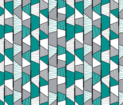Hip Fragmentation (Modern) LARGE fabric by brendazapotosky on Spoonflower - custom fabric