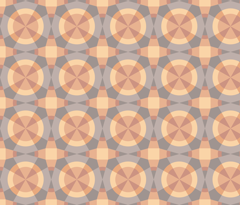 Starlight Fragmentation fabric by sanderella on Spoonflower - custom fabric