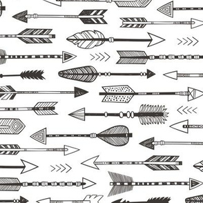 Arrows in Black&White Rotated