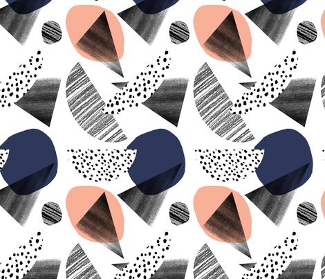 Large Fragmentation fabric by minikuosi on Spoonflower - custom fabric