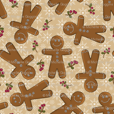 Tossed Gingerbread