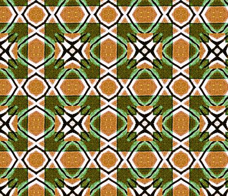 Fragmentation lattice fabric by veronique7 on Spoonflower - custom fabric