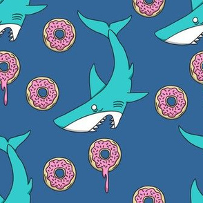 Shark vs Donut