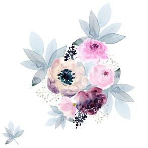 """10.5"""" Winter Friends Florals"""
