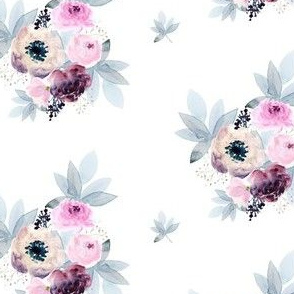 """4"""" Winter Friends Florals"""