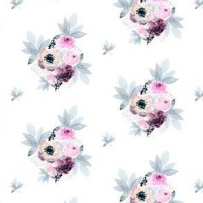 """2.5"""" Winter Friends Florals"""