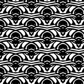 Black and White Art Deco