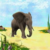 Elephant's Beauty
