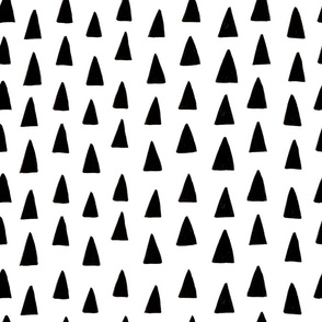 Triangle Forest - Black/White