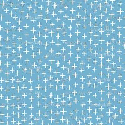 Cross Stitch - Light Blue