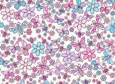 Flower Bee, Cream