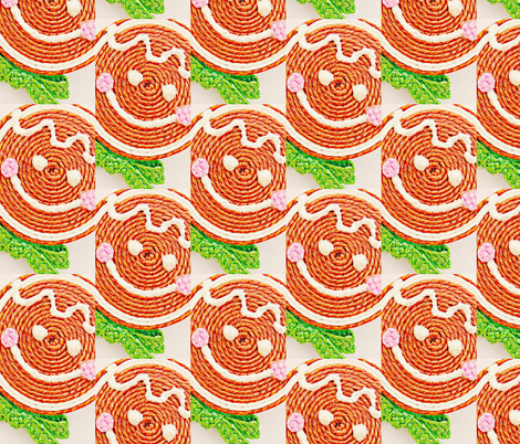 gingerbreadstrawface-ed fabric by sangerstreetstudio on Spoonflower - custom fabric