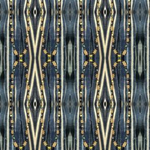 Beads Over Indigo