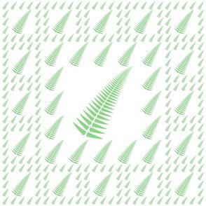 Fresh Green Fern Pattern