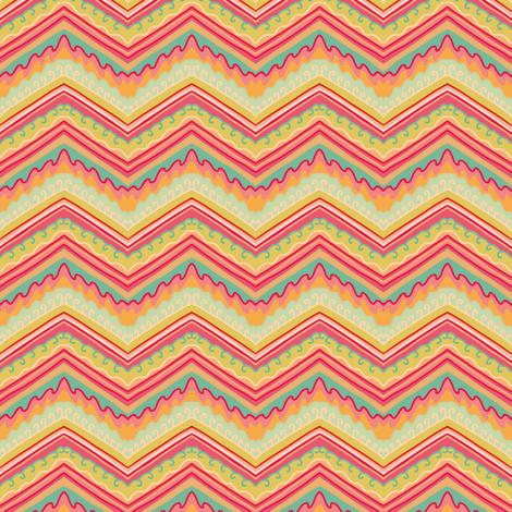Summer mountains fabric by dariara on Spoonflower - custom fabric