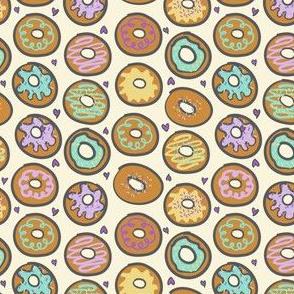 Doughnuts Vanilla Pastels