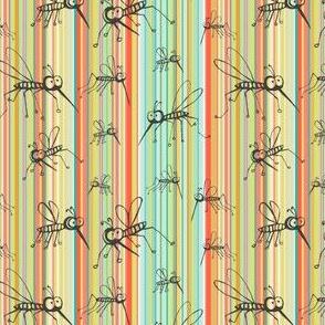 Mosquitos citrus stripes