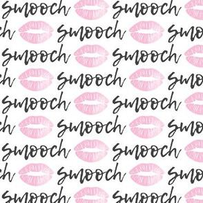 smooch - pink and grey