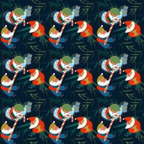 xmas-gift-wrap-paper-santas